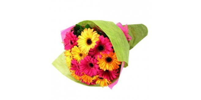Colorful Gerbera Bouquet