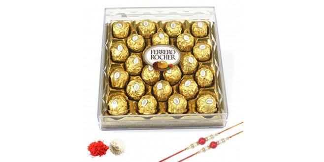 Rakhi Ferrero Rocher Chocolate Combo