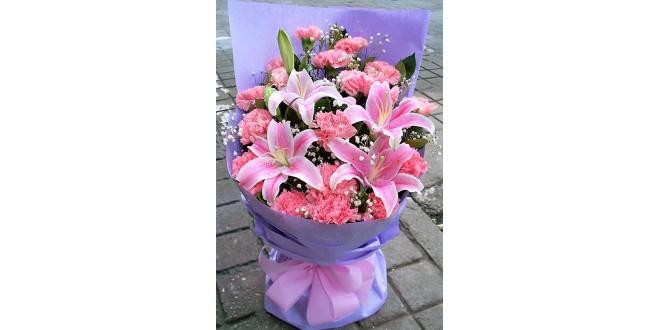 Lilies n Carnation