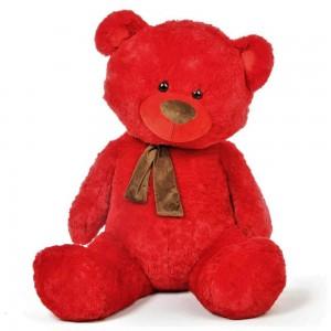 Lovable Red Teddy Bear