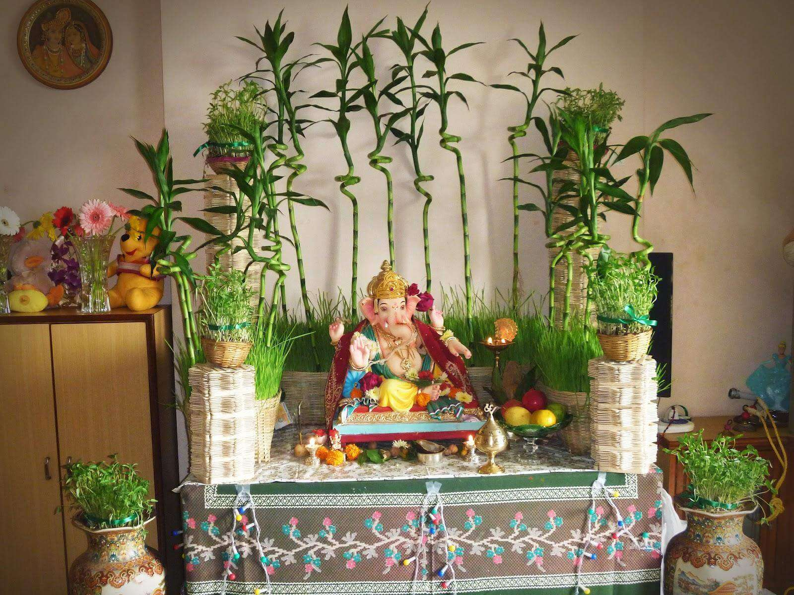 buy online flowers for ganpati decoration blooms only